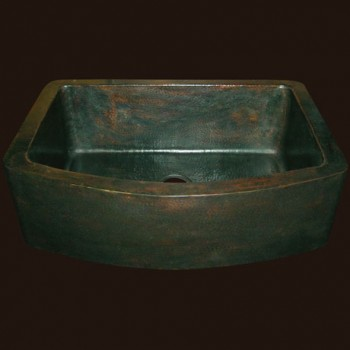 Radiance Farmhouse Copper Sink