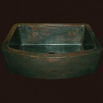 Radiance Farmhouse Copper Sink