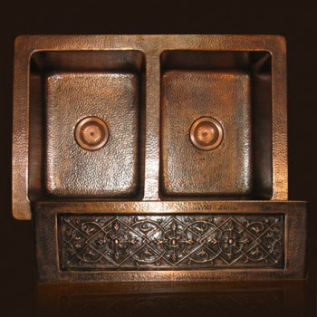 LHSDC32 Copper Farmhouse Sink