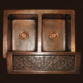 Garden Farmhouse Copper Sink : Fleur